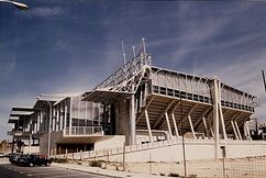 Centro de gimnasia rítmica]], Alicante (1989-1991), junto con Enric Miralles.