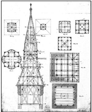 Detalla de la torre