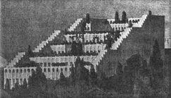 Proyecto de Casa de la Amistad, Estambul (1917)
