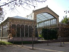 Invernadero del Parc de la Ciutadella, Barcelona (1884)