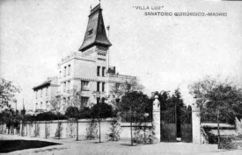 Sanatorio del doctor Tapia, Madrid (1908)
