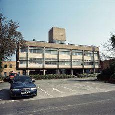 Oficinas Carr & Co, Shirley, Birmingham (1956)