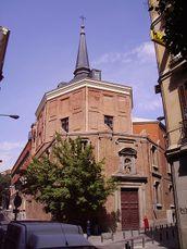 Fachada de la iglesia de San Antonio de los Alemanes, madrid (1887)