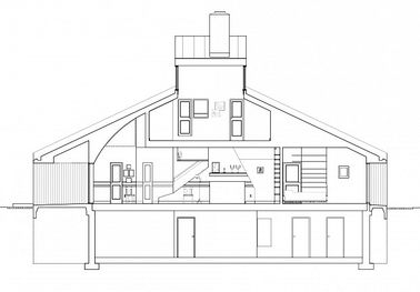 Casa vanna venturi- seccion logitudinal.jpg