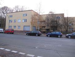 Conjunto residencial en Afrikanischestrasse, Berlín (1927)