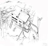 Proyecto de villa con embarcadero en el lago de Como (1932)