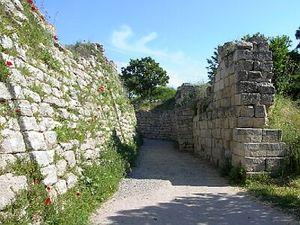 muros de la ciudad de Troya