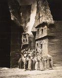 """Decorados para la película """"El Golem"""" (1920)"""