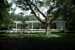 Casa Farnsworth, Plano, Illinois, EEUU (1946–1951)