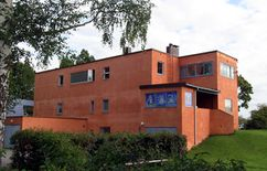 Villa Riise (1934–1935), con Sverre Aasland