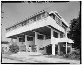 Casa de playa Lovell, Newport, al sur de Los Ángeles (1922-1926)