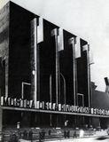 Fachada provisional del Palacio de Exposiciones para la Mostra della Rivoluzione Fascista, Roma (1932)