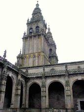 Claustro de la Catedral de Santiago de Compostela