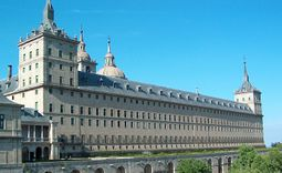 Fachada sur del Monasterio de El Escorial.