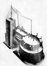 L+V+A:Boceto para el Palacio del Trabajo (1923)