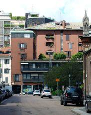 Edificio comercial y Residencial, Corso Italia, Milán (1957-1964)