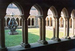 Claustro de la Abadía de Iona