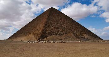 Pirámide Roja de Dahshur.