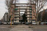 Edificio de viviendas Rustici, Milán (1933-1936), con Pietro Lingeri