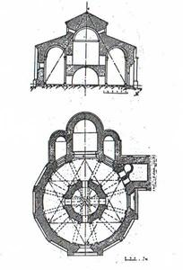 Iglesia de la Vera Cruz.Segovia. Planos.bmp