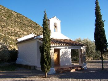 Vista de la ermita de San Roque.