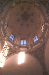 Vista interior de la cúpula