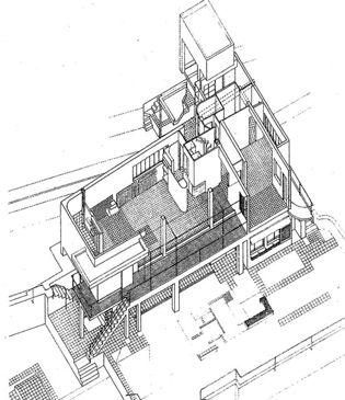 Eileen Gray. Casa E1027.planos1.jpg