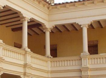 Detalle del castillo de Monteagudo de las Vicarias (Soria)