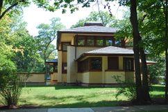 Casa Mary W. Adams, Highland Park, Illinois (1905)
