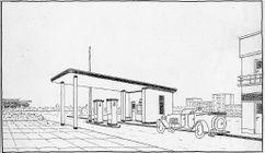 Prototipo de estación de servicio (1927)
