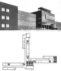 Proyecto para Instituto Politécnico en Frunce (1927)