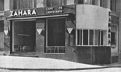 Cafe Zahara, Madrid (1930)
