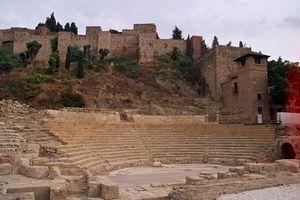 Teatro romano y Alcazaba