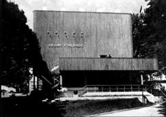 Pabellón finlandés de 1937, París (1936-1937)