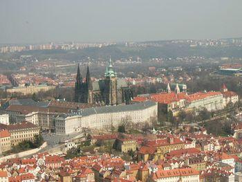 Catedral de San Vito, en el interior del recinto del Castillo de Praga.