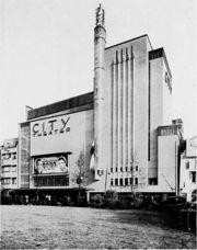 Teatro de Ámsterdam, (1934-1935) con Oscar Rosendahl.