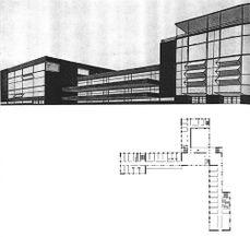 Proyecto de Pabellón para la Universidad de Minsk (1926)