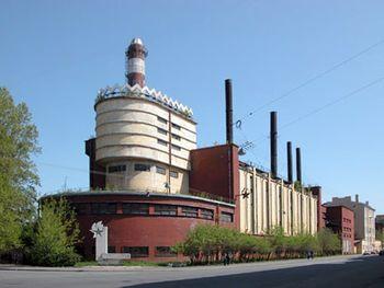 Central eléctrica de la fábrica.
