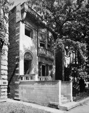 Casa de Albert Sullivan, Chicago (1892) como colaborador de Louis Sullivan