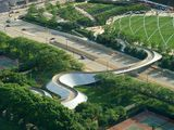 Puente peatonal BP, Chicago (1999-2004)