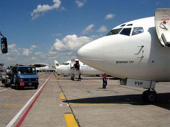 Plataforma de aeropuerto