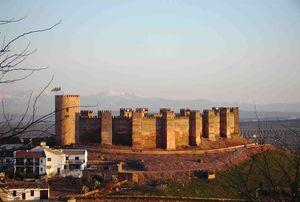 Vista global del castillo