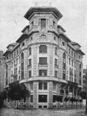Edificio de viviendas en calle Ercilla, Bilbao (1919-1922)