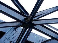 Nudo en estructura metálica: [1]