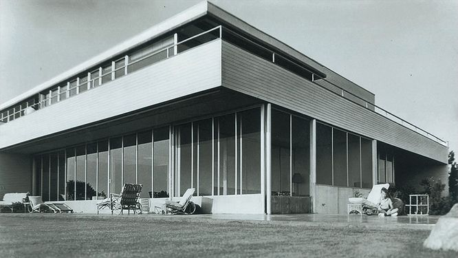 Casa Brown de Richard Neutra