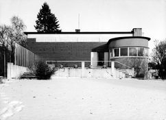 Villa Dammann, Oslo (1930-1932), con Sverre Aasland