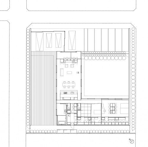 Casa con dos patios.Tezuka.Planta.jpg