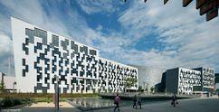 Edificio de Departamentos en el Campus WU de Viena (2008-2013)