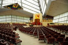 Frank Lloyd Wright. Sinagoga Beth Sholom.4.jpg