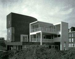 Dos viviendas en el parque Van der Venne, La Haya (1984-1988)